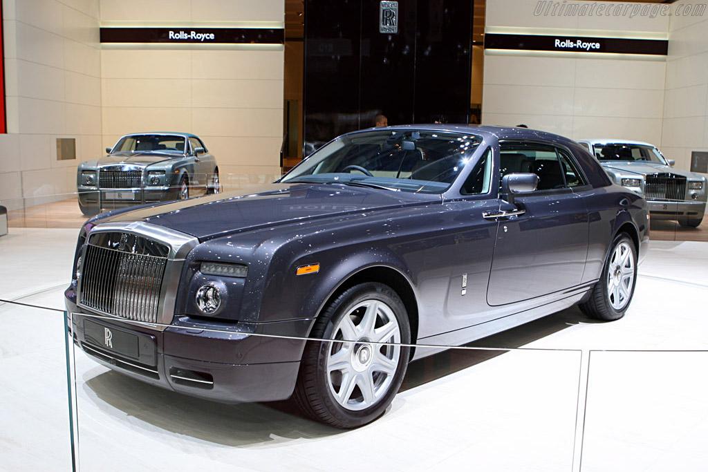 Rolls-Royce Phantom Coupe    - 2008 Geneva International Motor Show