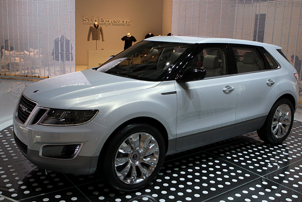 Saab 9-4X BioPower Concept    - 2008 Geneva International Motor Show
