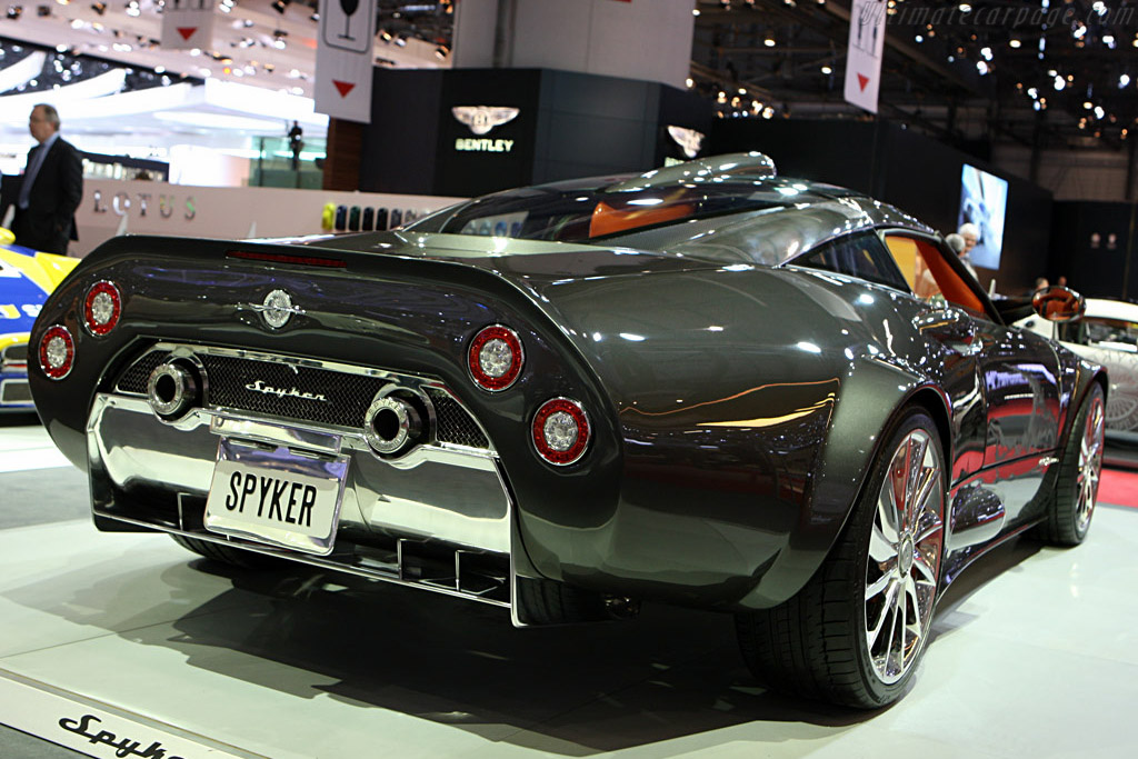 Spyker C8 Aileron    - 2008 Geneva International Motor Show