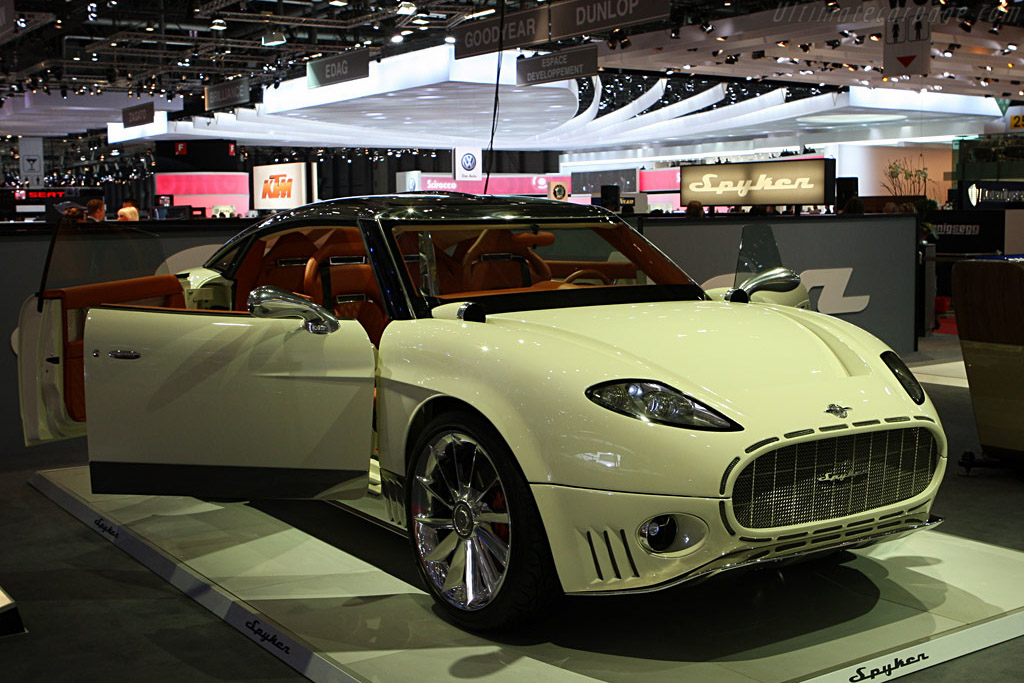 Spyker Peking to Paris    - 2008 Geneva International Motor Show