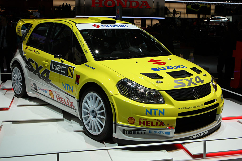 Suzuki SX4 WRC    - 2008 Geneva International Motor Show