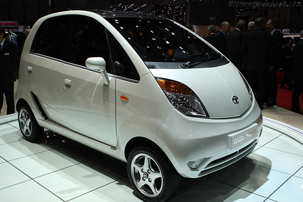 Tata Nano    - 2008 Geneva International Motor Show