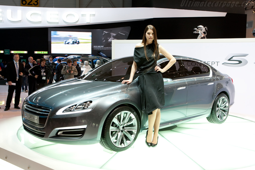 5 Concept by Peugeot    - 2010 Geneva International Motor Show