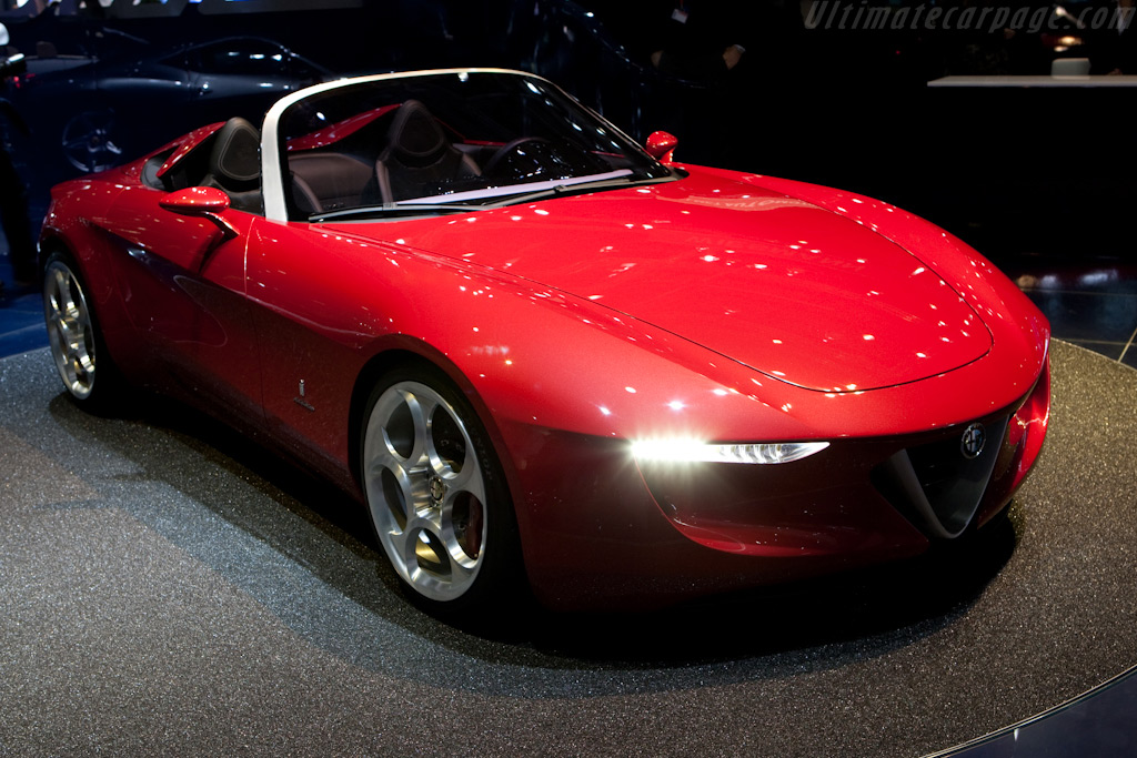 Alfa Romeo 2uettottanta Pininfarina Spyder    - 2010 Geneva International Motor Show