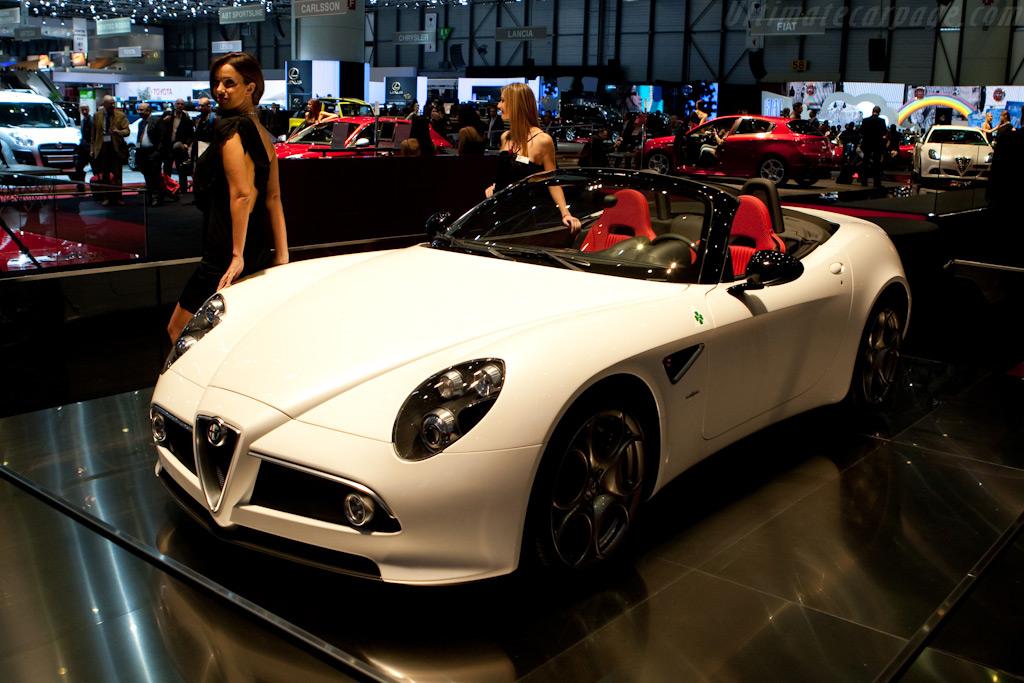 Alfa Romeo 8C Competizione Spyder    - 2010 Geneva International Motor Show