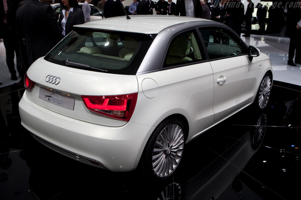 audi a1 e tron 2010 geneva international motor show. Black Bedroom Furniture Sets. Home Design Ideas