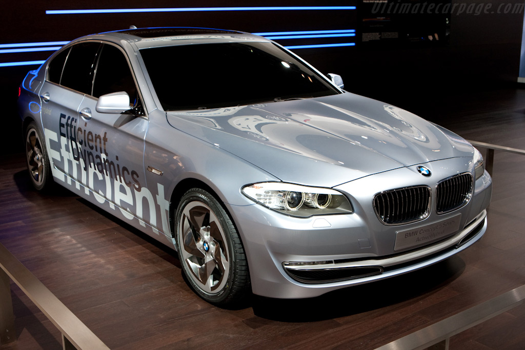 BMW 5-Series Active Hybrid Concept    - 2010 Geneva International Motor Show
