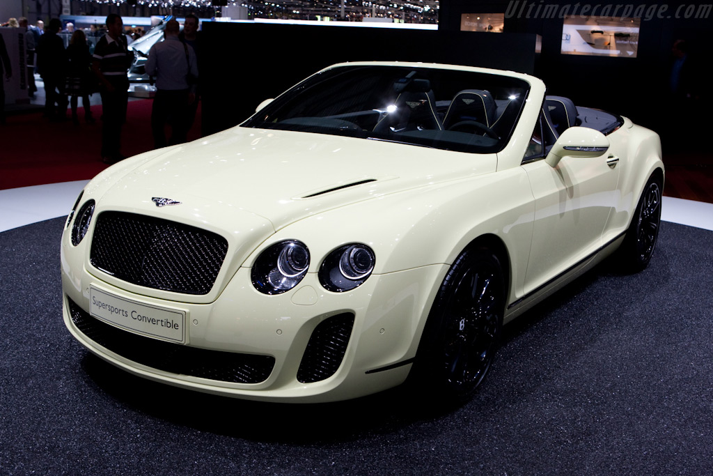 Bentley Continental Supersports Convertible    - 2010 Geneva International Motor Show