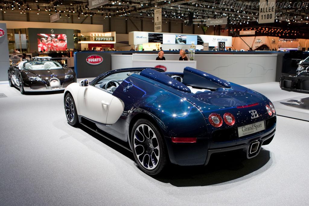 Bugatti Veyron Grand Sport - Chassis: VF9SK25250M795026   - 2010 Geneva International Motor Show