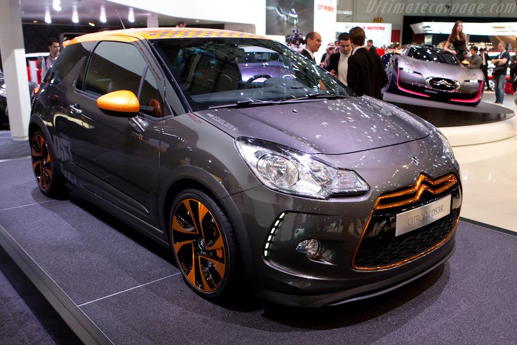 Citroën DS3 Racing    - 2010 Geneva International Motor Show