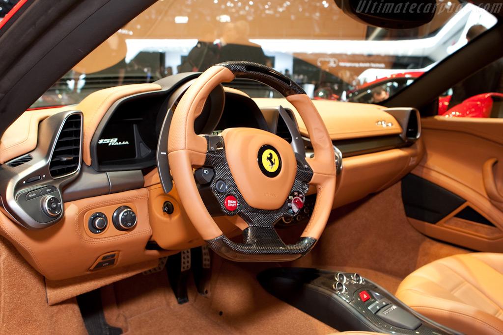 Ferrari 458 Italia    - 2010 Geneva International Motor Show