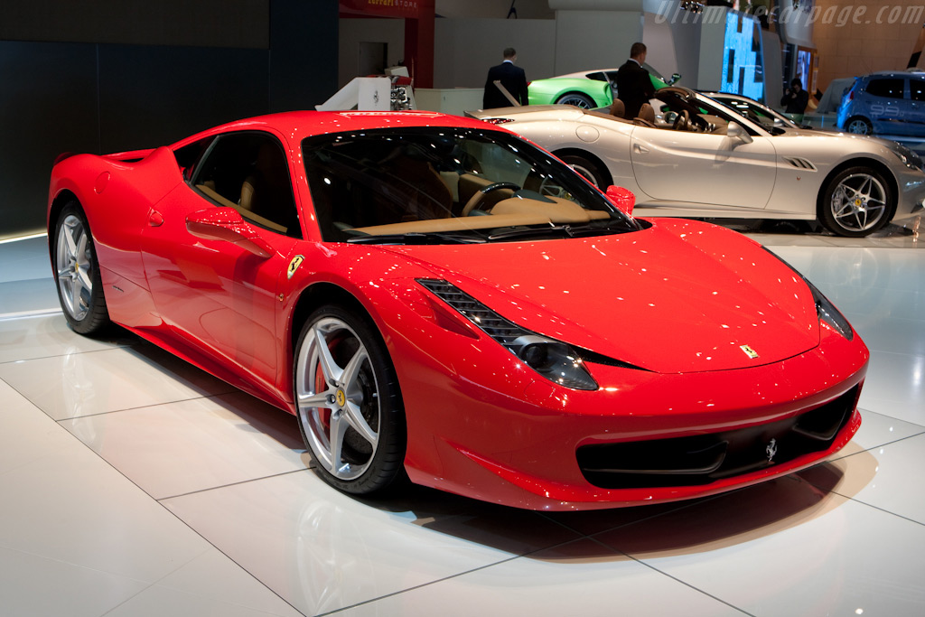 Ferrari 458 Italia    - 2010 Geneva International Motor Show