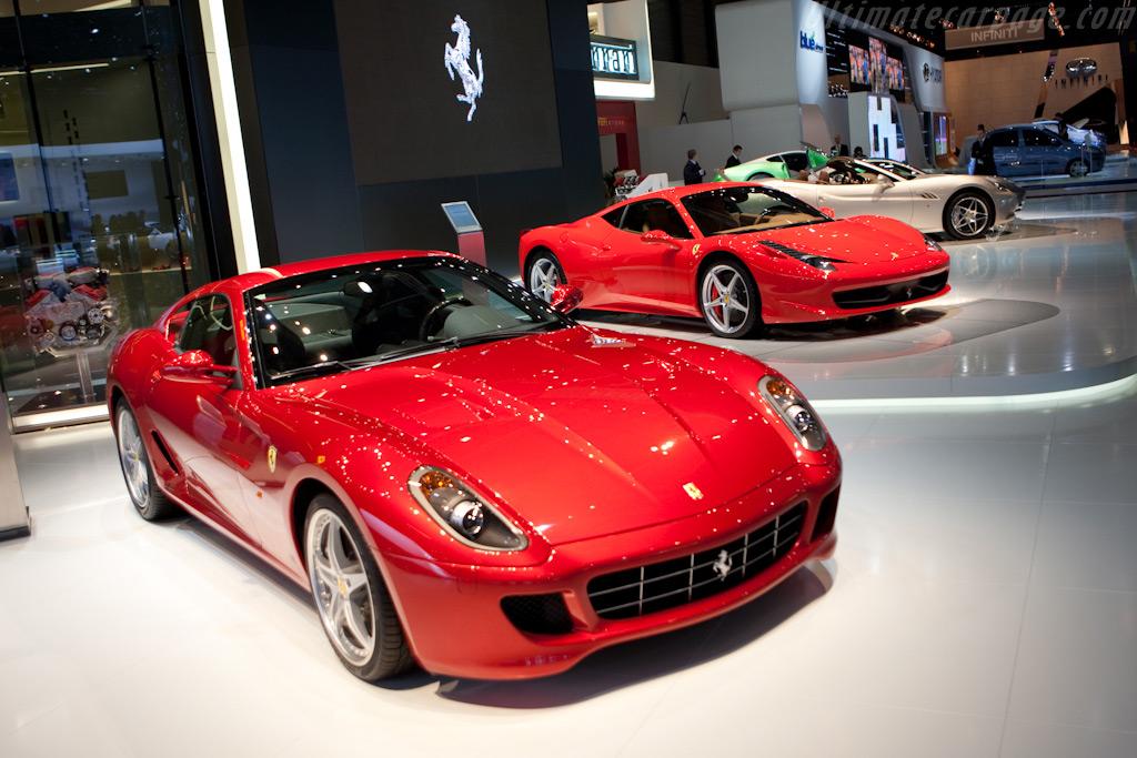 Ferrari 599 GTB Fiorano    - 2010 Geneva International Motor Show