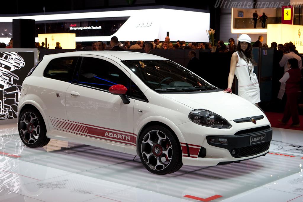 Fiat Abarth Punto Evo    - 2010 Geneva International Motor Show