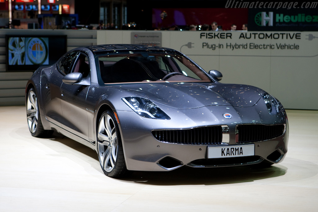 Fisker Karma    - 2010 Geneva International Motor Show