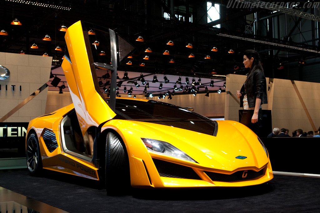 Frazer-Nash Italdesign Concept    - 2010 Geneva International Motor Show