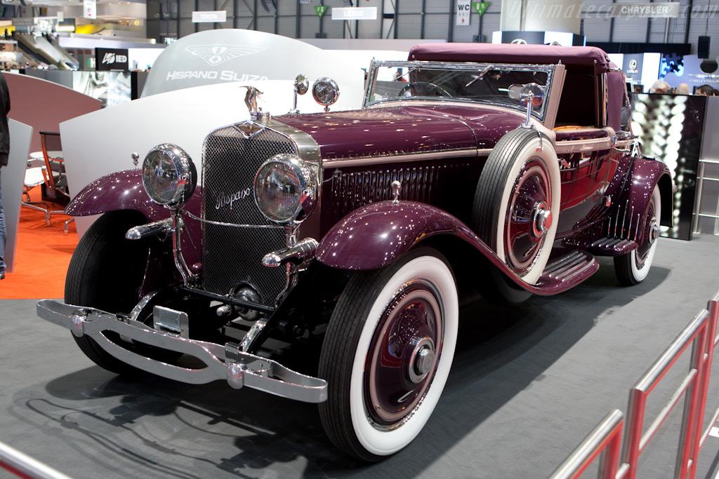 Hispano Suiza H6B    - 2010 Geneva International Motor Show
