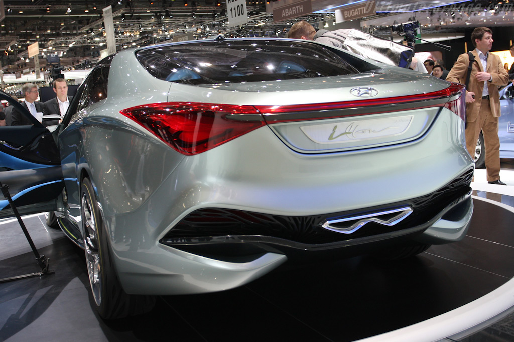 Hyundai i-flow Concept    - 2010 Geneva International Motor Show