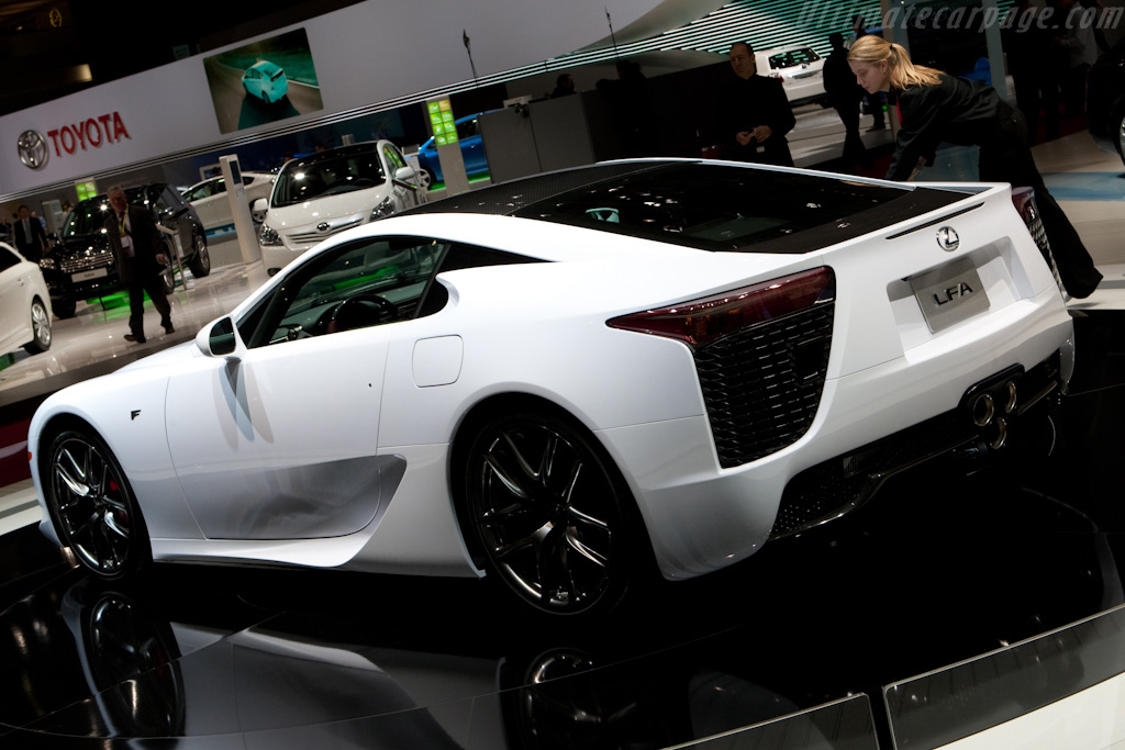 Lexus LFA    - 2010 Geneva International Motor Show