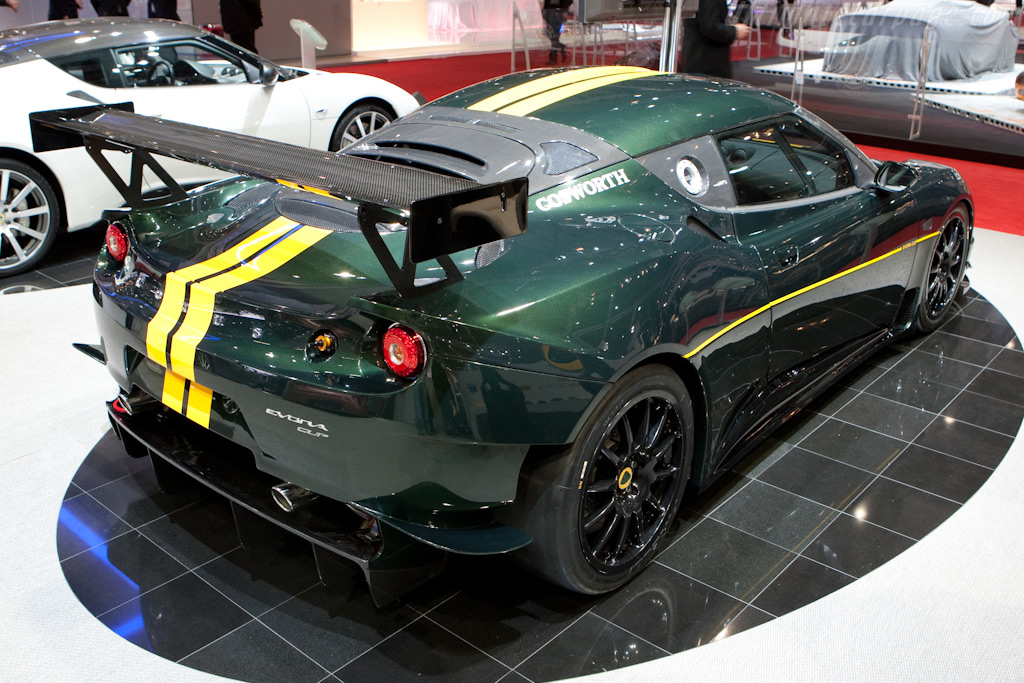 Lotus Evora Cup    - 2010 Geneva International Motor Show