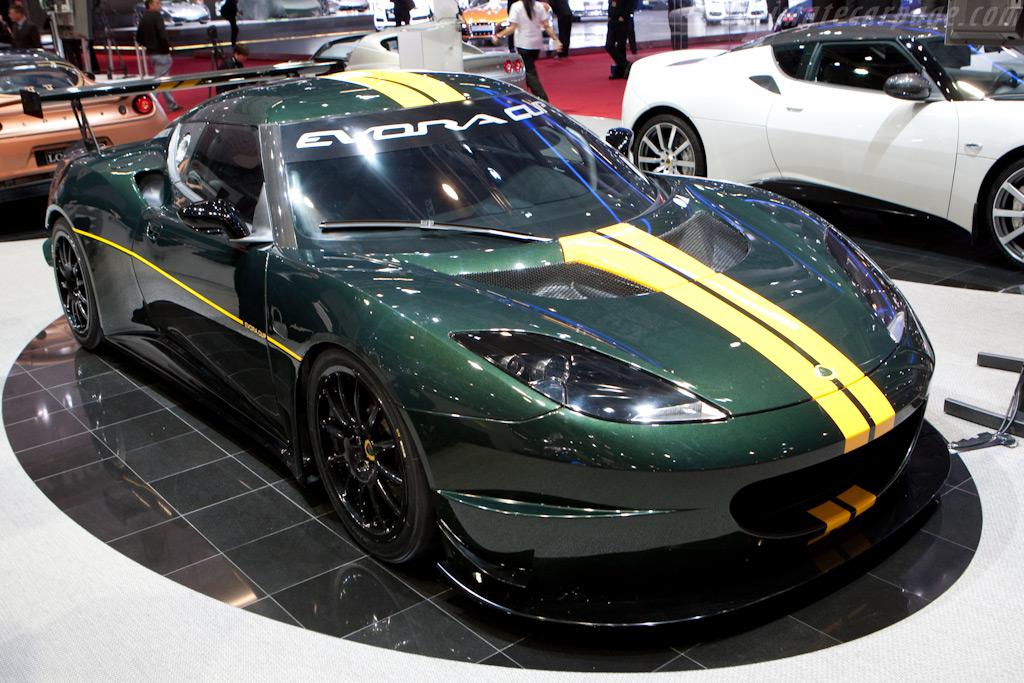 Lotus Evora Cup    - 2010 Geneva International Motor Show