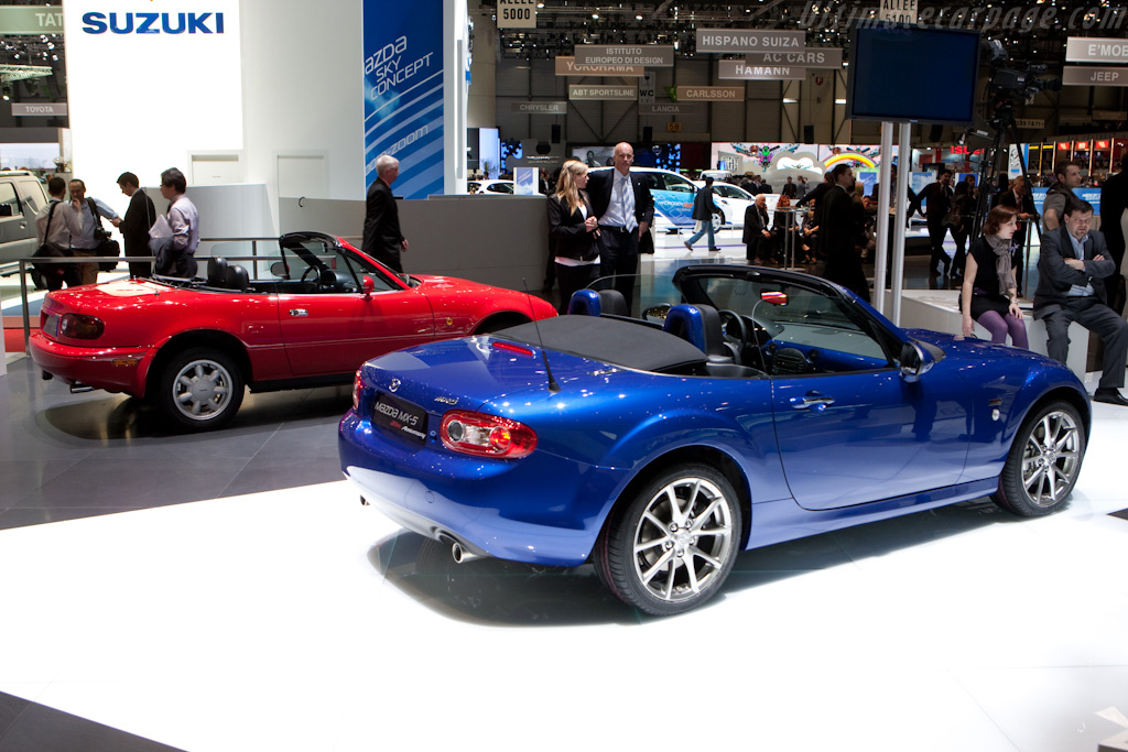 Mazda MX-5 20th Anniversary    - 2010 Geneva International Motor Show