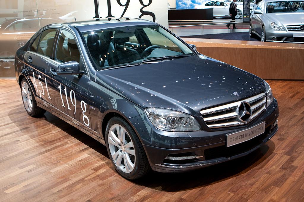 Mercedes-Benz C 220 CDI Bluefficiency    - 2010 Geneva International Motor Show
