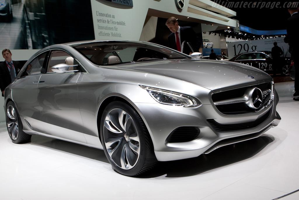 Mercedes benz f 800 style concept 2010 geneva for International mercedes benz