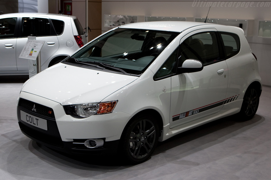 Mitsubishi Colt Ralliart    - 2010 Geneva International Motor Show