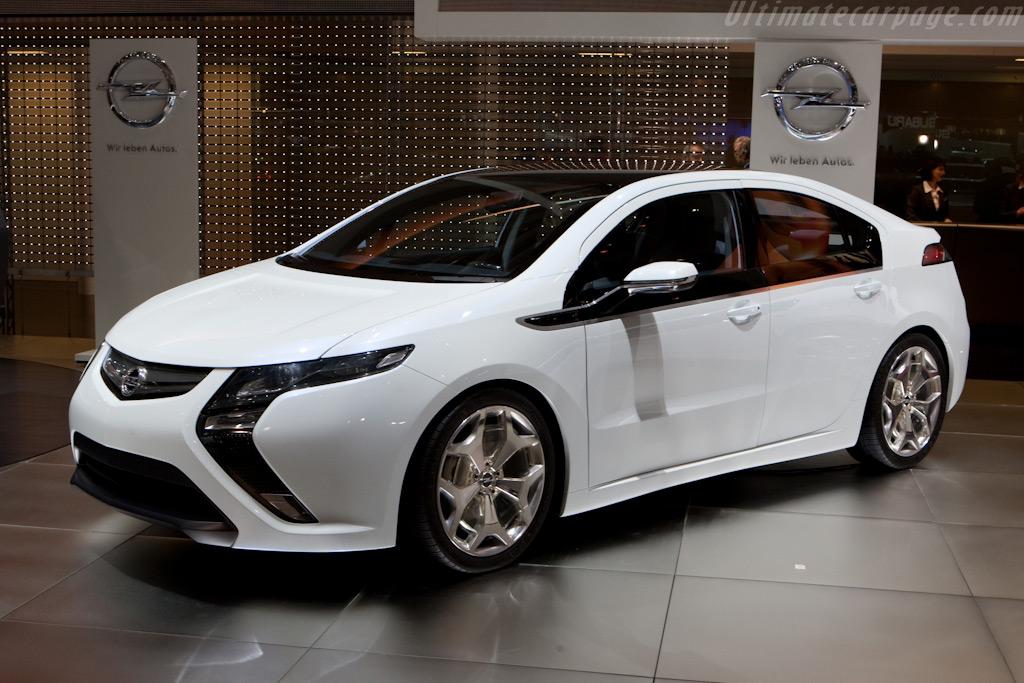 Opel Ampera    - 2010 Geneva International Motor Show