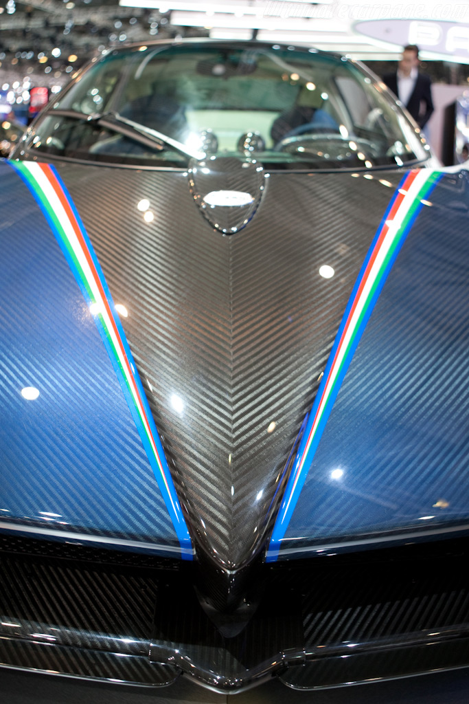 Pagani Zonda Tricolore    - 2010 Geneva International Motor Show