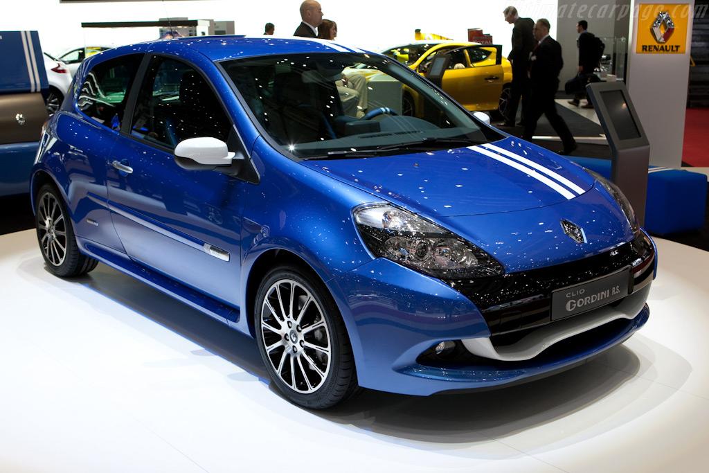 Renault Clio Gordini RS    - 2010 Geneva International Motor Show