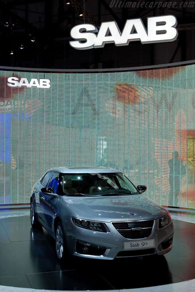 Saab 9-5    - 2010 Geneva International Motor Show