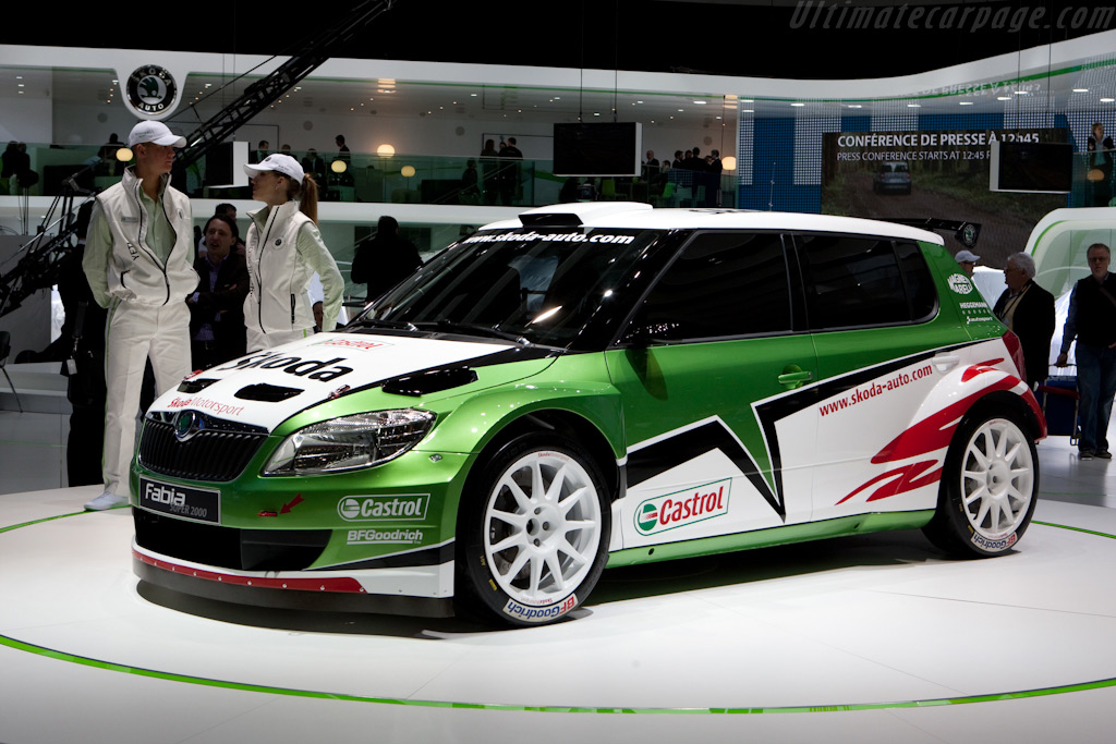 Skoda Fabia S2000    - 2010 Geneva International Motor Show