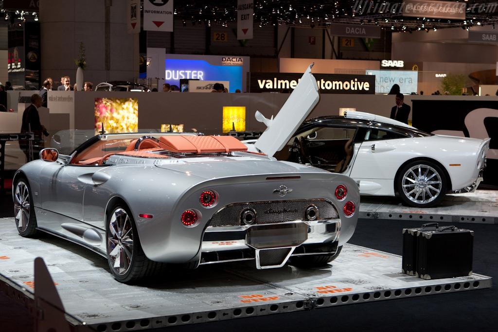 Spyker C8 Aileron Spyder    - 2010 Geneva International Motor Show