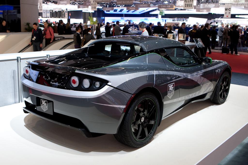 Tesla Roadster    - 2010 Geneva International Motor Show