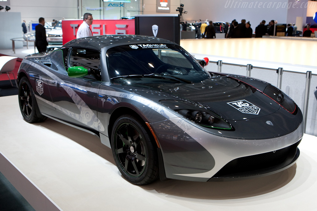 Tesla Roadster    - 2010 Geneva International Motor Show