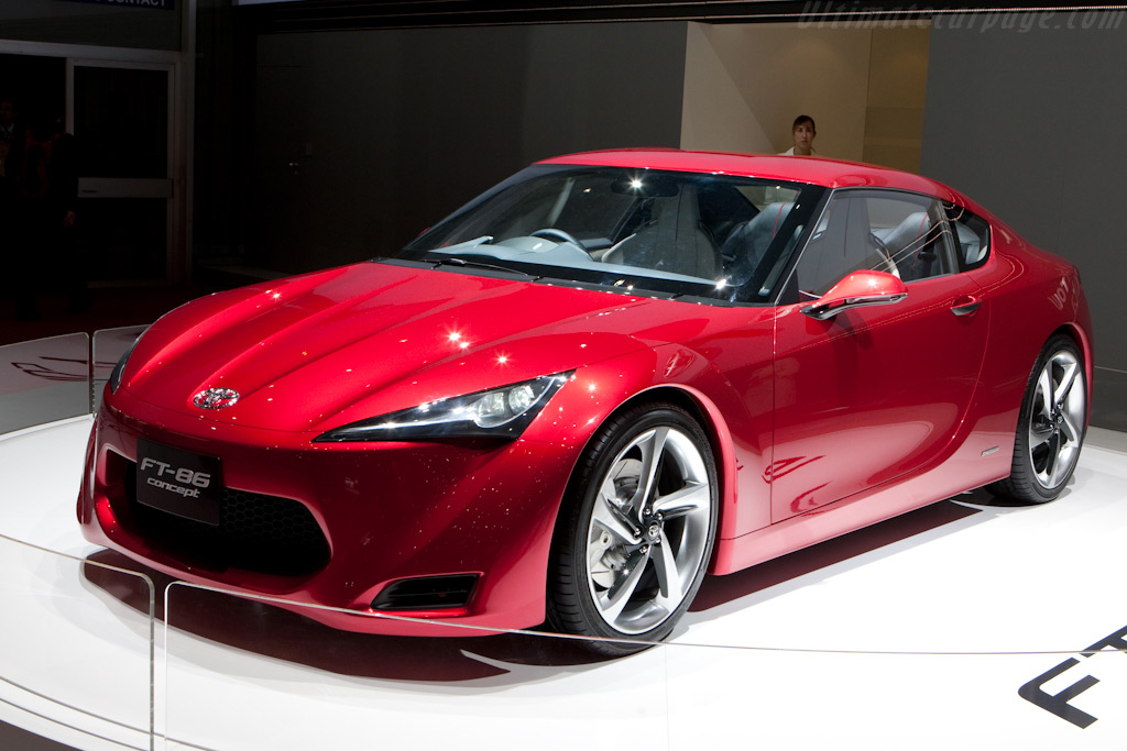 Toyota FT-86    - 2010 Geneva International Motor Show