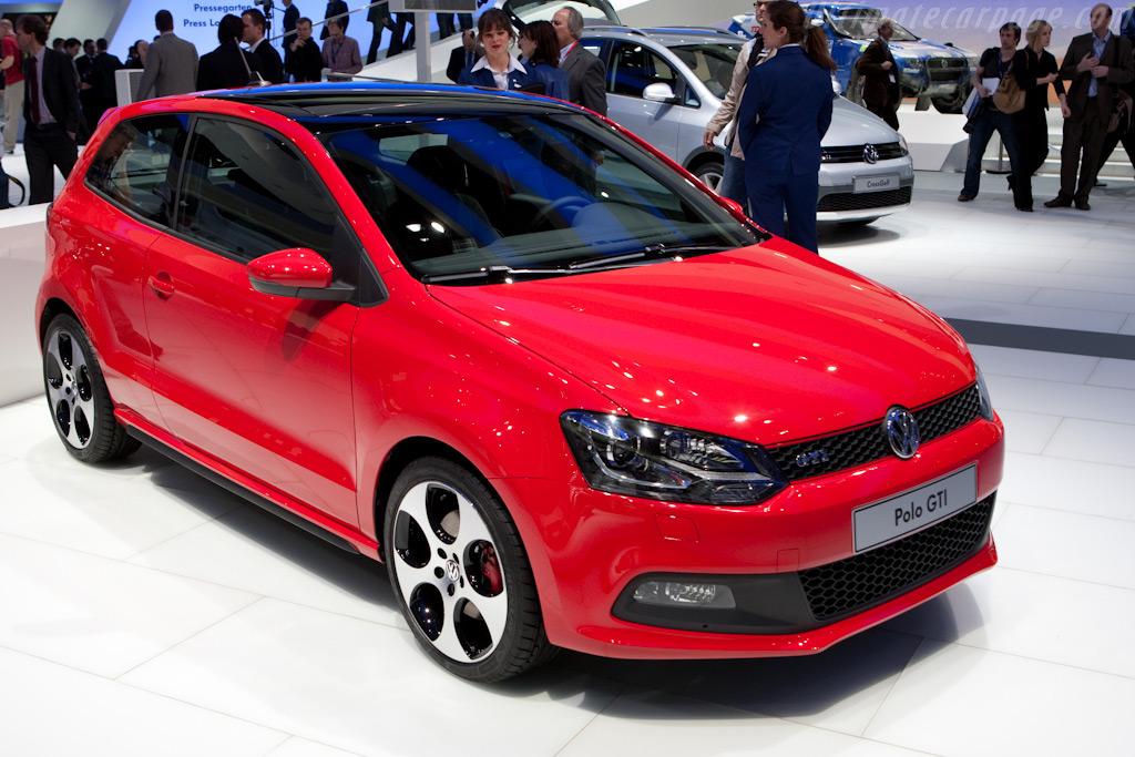 Volkswagen Polo GTI    - 2010 Geneva International Motor Show