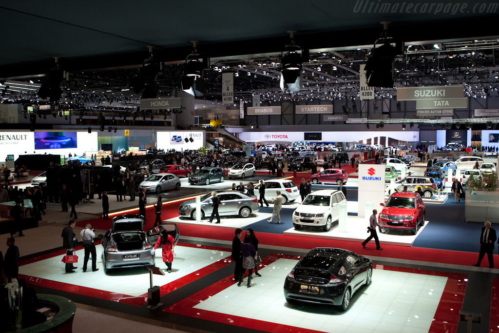 Welcome to Geneva    - 2010 Geneva International Motor Show