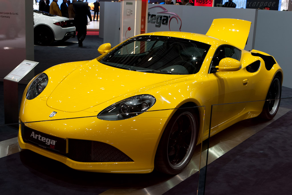 Artega GTE   - 2011 Geneva International Motor Show