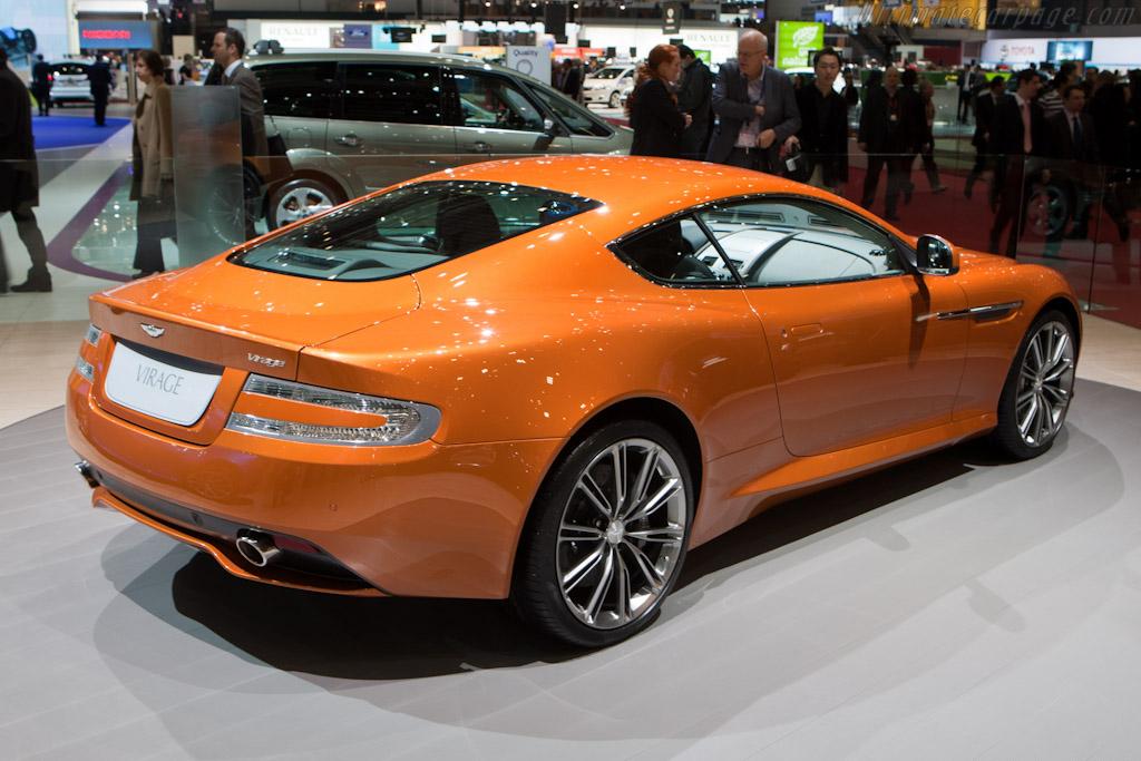 Aston Martin Virage    - 2011 Geneva International Motor Show