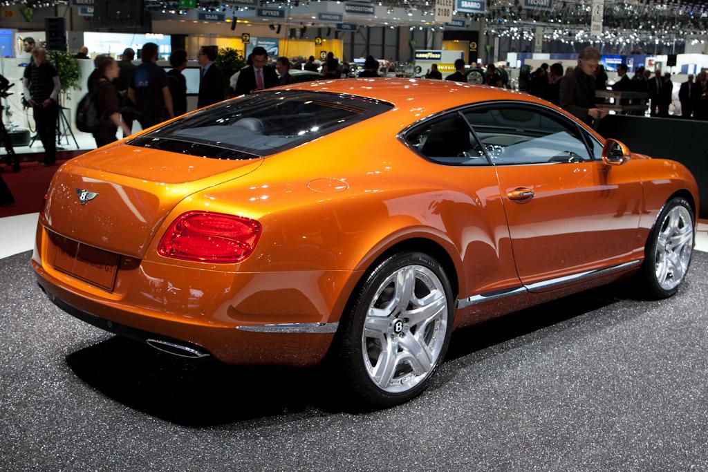 Bentley Continental GT    - 2011 Geneva International Motor Show