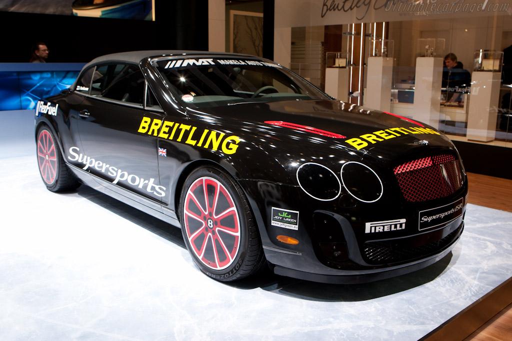 Bentley Continental GT Record Breaker   - 2011 Geneva International Motor Show