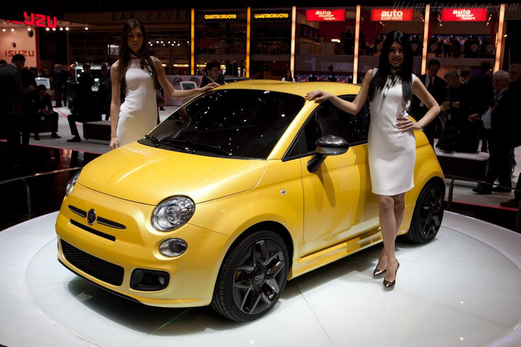 Fiat 500 Zagato Coupe    - 2011 Geneva International Motor Show