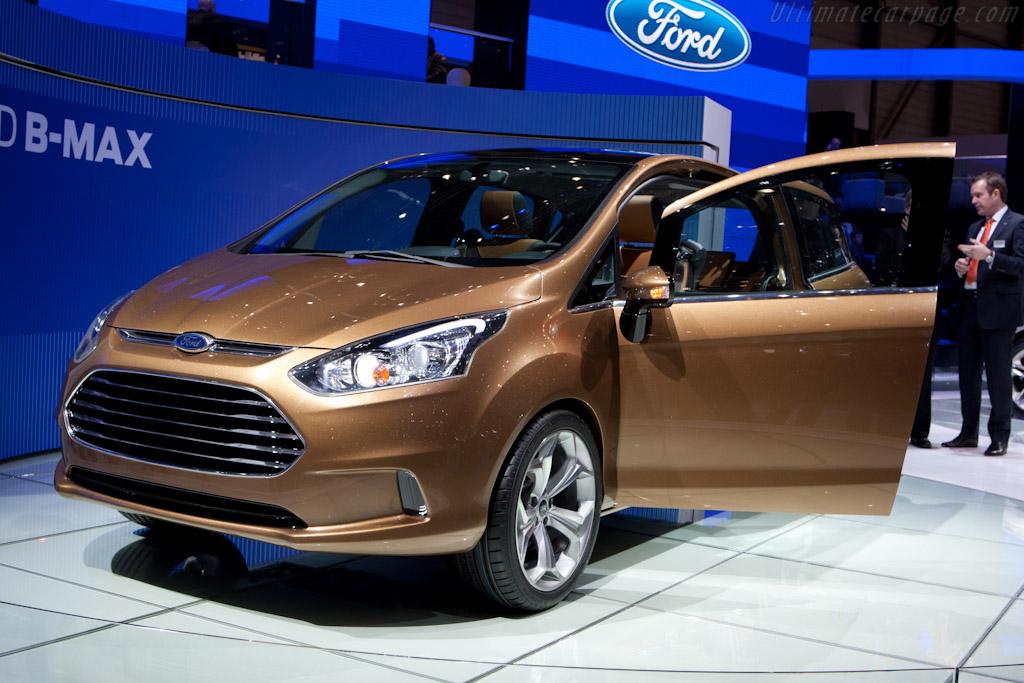 Ford B-Max    - 2011 Geneva International Motor Show