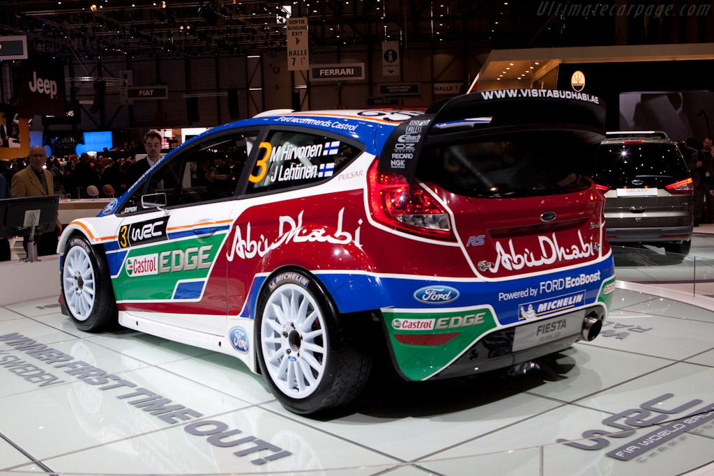 Ford Fiesta RS WRC    - 2011 Geneva International Motor Show