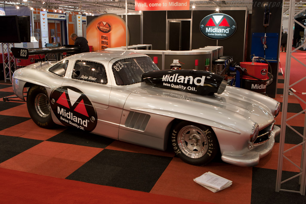 Gullwing drag racer    - 2011 Geneva International Motor Show