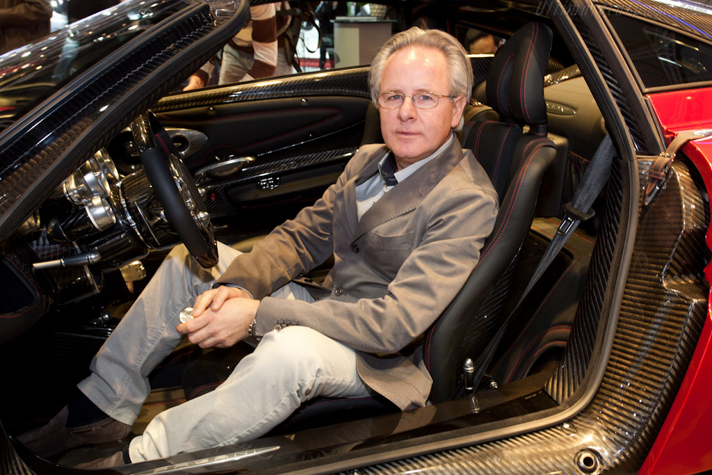 Horacio Pagani    - 2011 Geneva International Motor Show