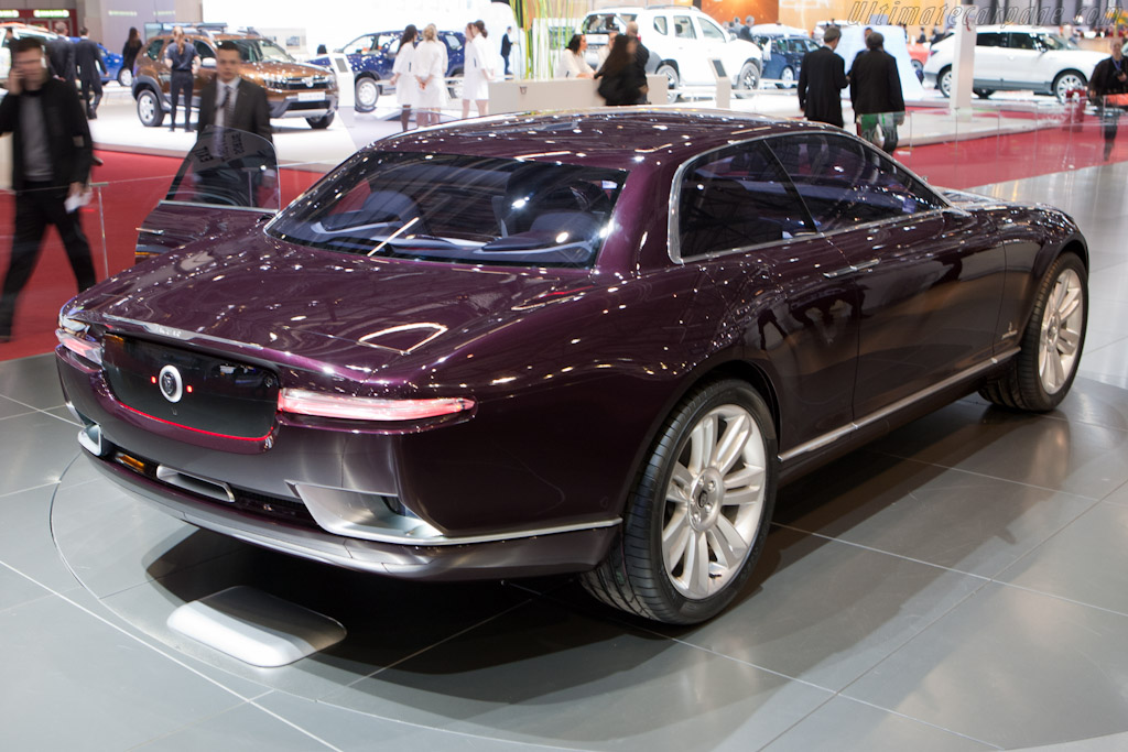 Jaguar B99 by Bertone    - 2011 Geneva International Motor Show